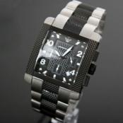 [エンポリオアルマーニ]男性用時計コピー(マルチクロノグラフ、黒文字盤)AR5842