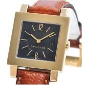 レディース ブルガリ クアドラド SQ27BGLD イエローゴールド コピー 時計