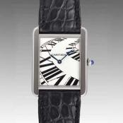 カルティエ時計ブランド 店舗 激安 タンクソロ インデックスアニメーション W5200017 コピー