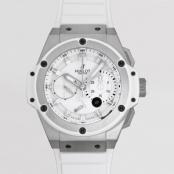 ウブロ 時計 コピー キングパワー スプリットセコンド パワーリザーブ ホワイト 709.E.2110.RW